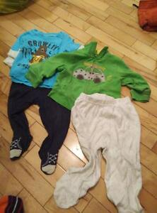 Baby boy's 10 piece clothing lot -newborn to 12 months