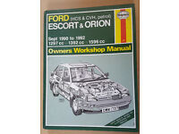 Ford Escort workshop manual