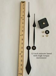 Make a Large 24+ Clock with 12 Hands & High Torque Motor for dials up to 1/2