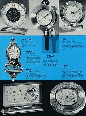 1956 Swiss Watch Fair Breitling Arsa Luxor Jaeger-LeCoultre Zodiac Imhof Doxa