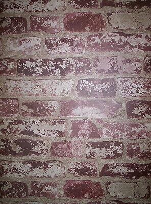 York Up The Wall Faux Brick Wallpaper