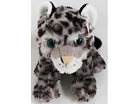 "12"" Snow Leopard Soft Toy By Wild Republic"