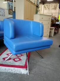 Top quality leather reception chairs. X7 available