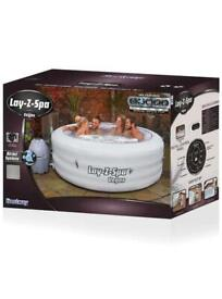 Brand New, Boxed & Sealed -Lay-Z Spa Vegas 4-6 Person Hot Tub (Others Available Helsinki, Maldives)