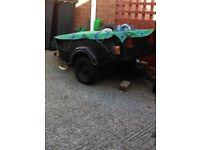 Car trailer 4x3 ideal tip runs or camping