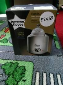 Tommee tippie bottle warmer
