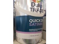 Dulux trade Satinwood paint for sale