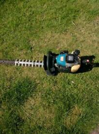 Makita professional petrol hedge trimmer