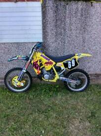 Suzuki rm 250 super evo not 65 85 125 450 kx cr tm Ktm rs nsr dt dtr .. Cash offers / swapz