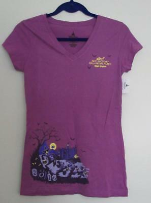 NWT Disney Parks Magic Kingdom Mickey's Not So Scary Halloween Party Large Top](Not So Scary Halloween Party Magic Kingdom)