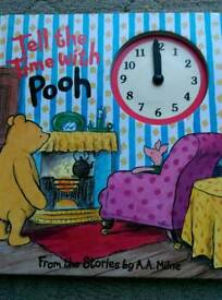 Educational kids book Whinnie the pooh