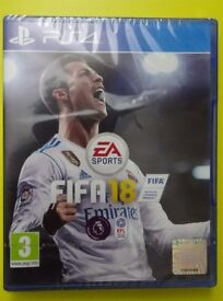 FIFA 18 PS4 BRAND NEW (CHEAP + SEALED) - ONLY 1 MORE LEFT!!!