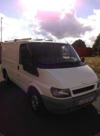 53 reg Ford Transit for sale, 12 months MOT ,clean van, good tyres, ready for work. Full Logbook V5