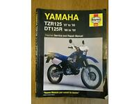 Haynes Manual for Yamaha DT125R / TZR125
