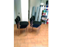 Meeting room, Boardroom, Visitor, CHARCOAL/CHROME Chairs