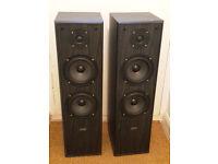Acoustic solutions av120 floor speakers