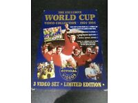 The Exclusive World Cup Video Collection 1954 - 19943 VHS videos