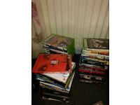 Job lot of dvd and xbox 360 games