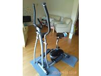 V-FIT MCCT1 MAGNETIC 2 IN 1 CYCLE ELLIPTICAL TRAINER