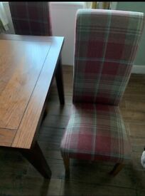 £150 Real Wood Dining set with 4 chairs