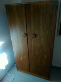 Wooden wardrobe for sale - in good condition