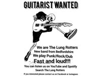 GUITARIST WANTED FOR BAND