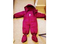 baby snowsuit 12 -18 months