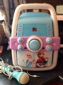 Disney Frozen Karaoke Machine