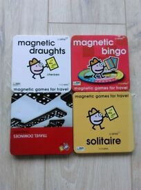 4 Magnetic Games - New & Sealed