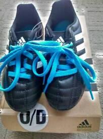 Boys addidas football boots