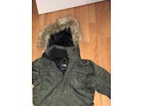 Ladies North Face - Khaki Ski jacket