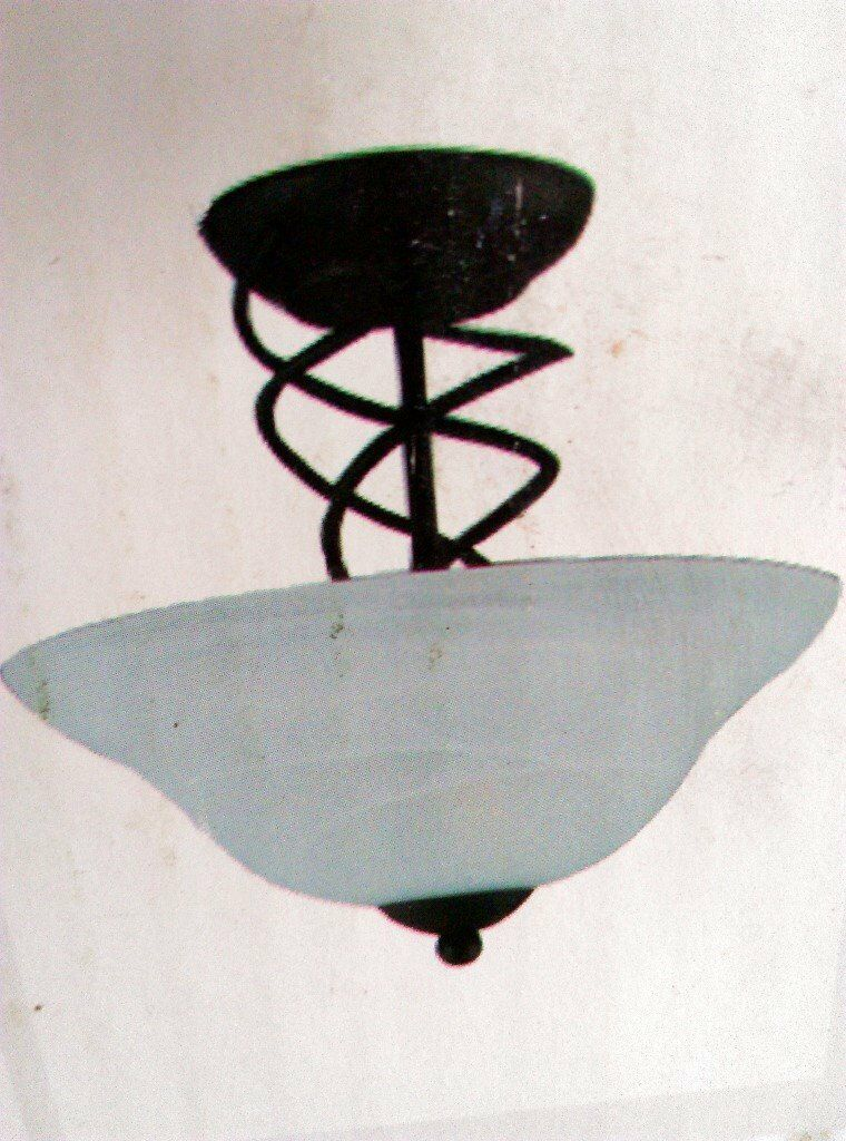 Black spiral ceiling lights. | in Llandough, Cardiff | Gumtree