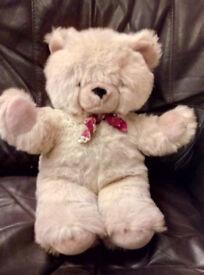 Light Brown Teddy Bear with bow