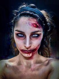Professional HALLOWEEN Facepainter /Prosthetic SFX makeup Artist (Facepaint Face body paint make up)