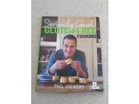 Two Phil Vickery Gluten Free Cookbooks