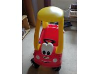 Little Tykes Coupe Car - excellent condition.