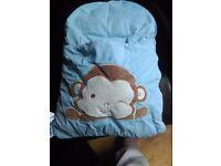zCush Blue Monkey Napsack