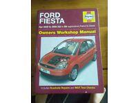 Ford fiesta haynes manual 02-58
