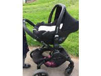 icandy peach 3 jet + brand new carseat plus extras