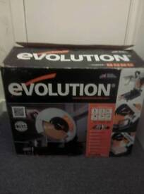 Evolution Rage Multipurpose Saw Never been used brand New still in Box and Wrapped.