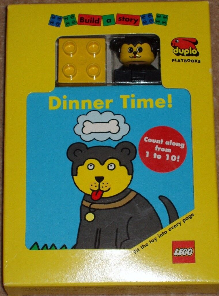 Lego Duplo Dinner Time! Build a Story Duplo Playbook