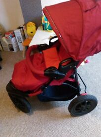 Mothercare 3 wheel pushchair