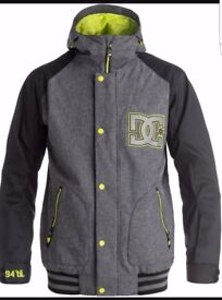 Dc snowboarding jacket, brand new in size large.