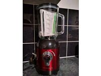Metallic Red Smoothie maker, in excellent condition, used once and works great.