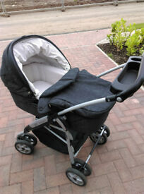 Mamas and Papas Combination Buggy, Pram, Car Seat, Moses Basket, High Chair