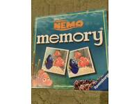Finding nemo memory game
