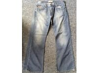Lee Cooper blue denim jeans W34 L30