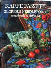 Illustrated Needlepoint and Embroidery Books