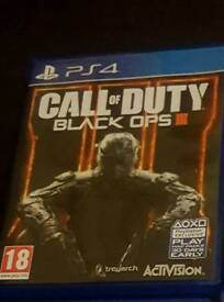Ps4 game black ops 3