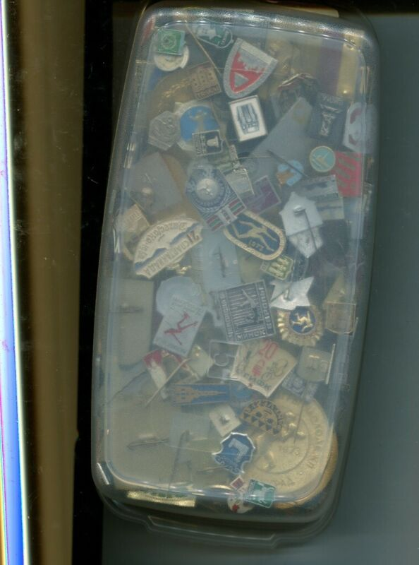 280 RUSSIA STICK PIN MIXED VINTAGE LOT